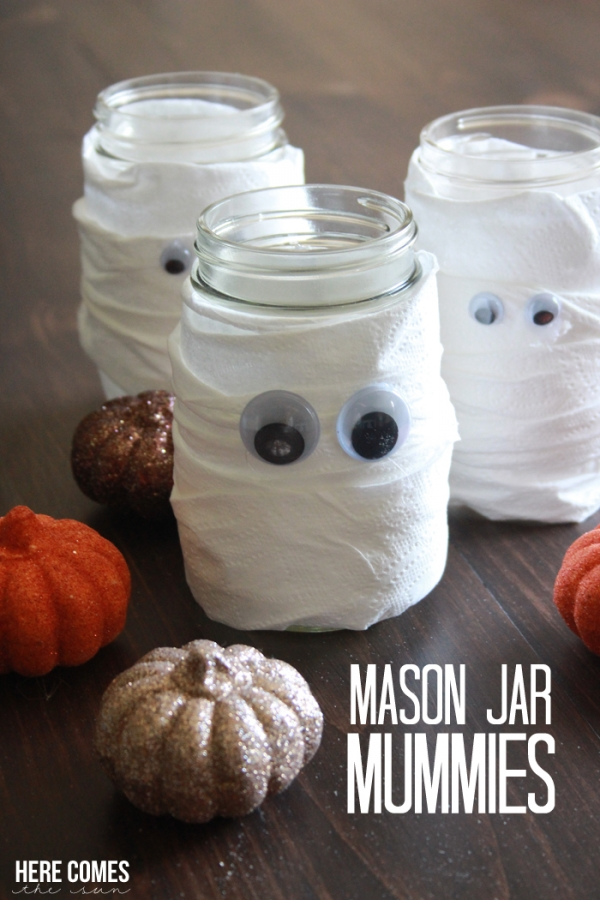mason jar mummy the ultimate list of ideas here comes the sun 2389