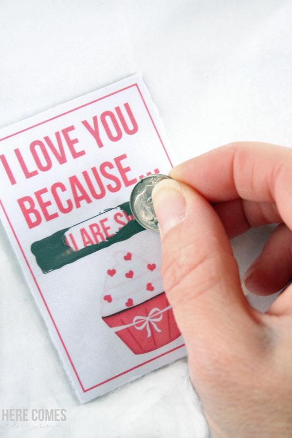 Scratch-Off Valentines