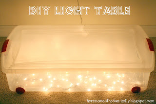DIY Light Table | Here Comes The Sun