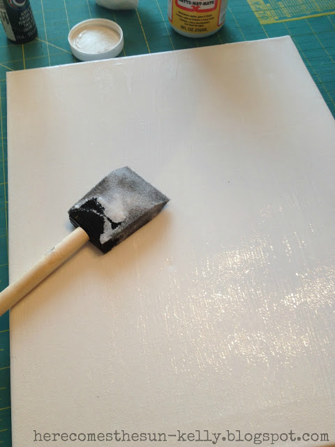 Here Comes the Sun: DIY Photo Canvas