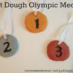 Salt Dough Olympic Medals I herecomesthesunblog.net