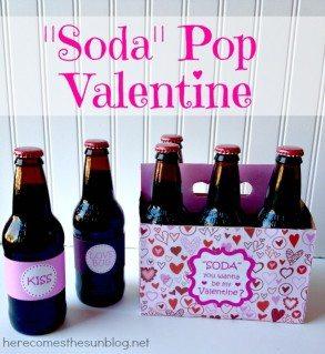 Soda Pop Valentine