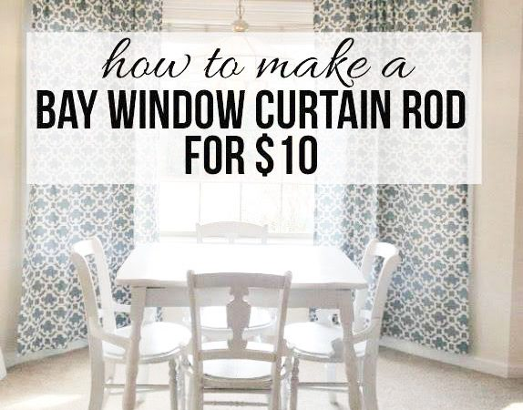 How To Hang Curtains On Bay Windows