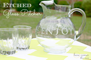 Etched+Glass+Pitcher