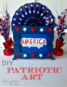 DIY+Patriotic+Art