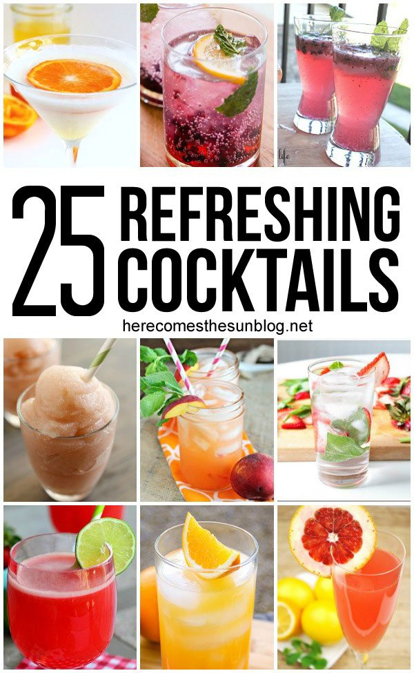15 Refreshing Lemonade Recipes Here Comes The Sun