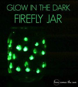 Glow in the Dark Firefly Jar