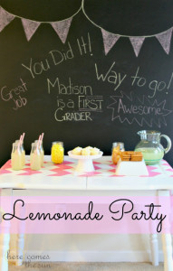 Lemonade+Party