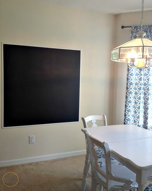 Here Comes the Sun: DIY Wall Chalkboard