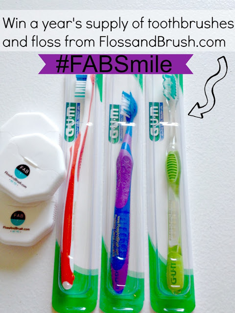 Smile Healthy with #FABSmile Review and Giveaway