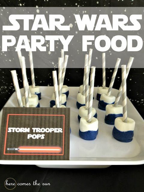 Star Wars Party Food via herecomesthesunblog.net
