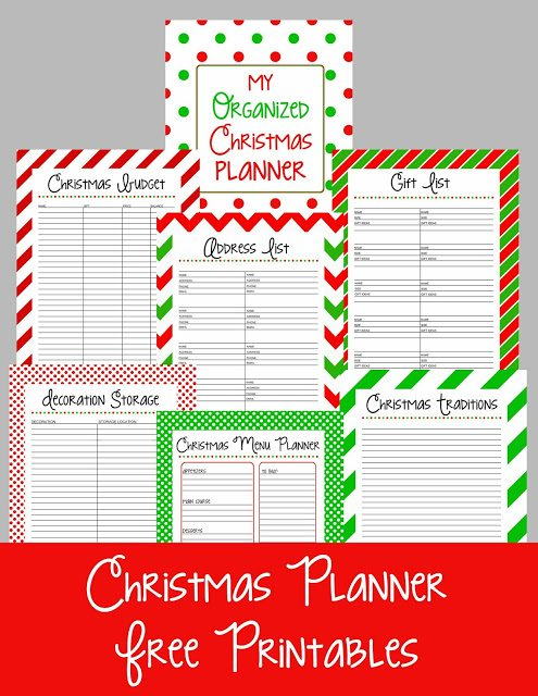 Christmas+Planner+Free+Printables