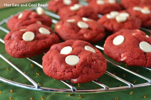 Red Velvet Thumbprint Cookies Using Cake Mix