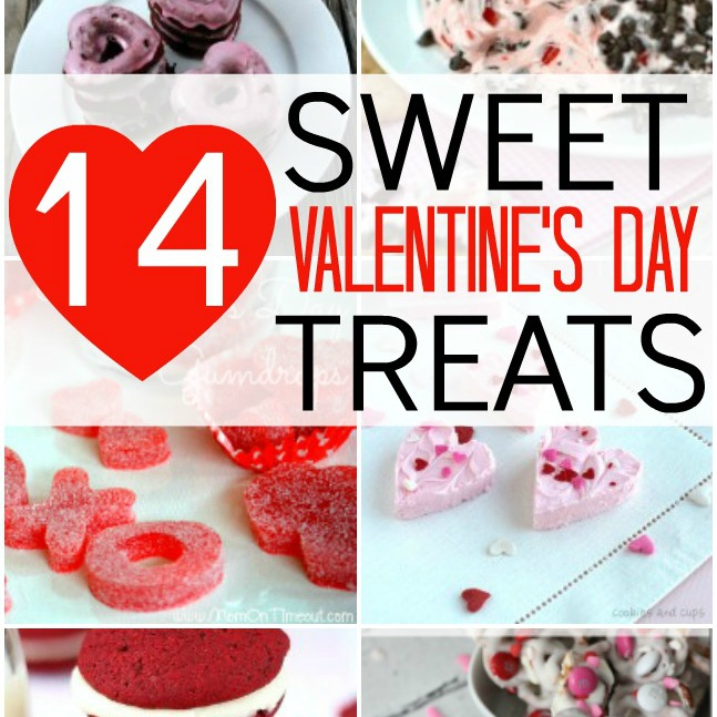 14 Sweet Valentine's Day Treats I herecomesthesunblog.net