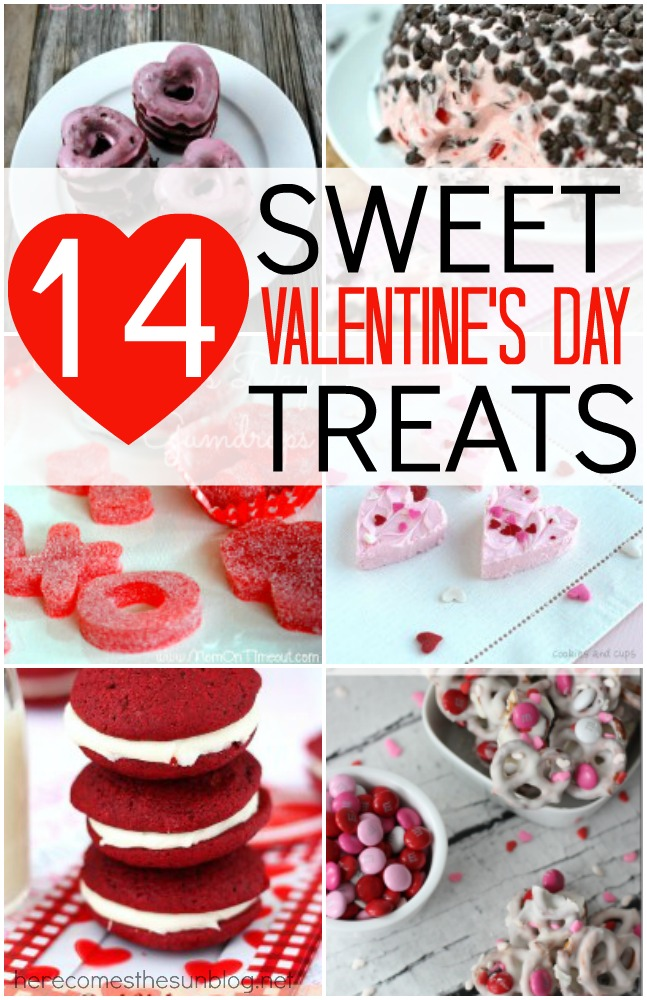 14 Sweet Valentine's Day Treats