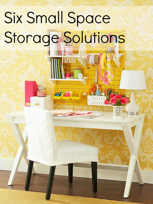 Six Small Space Storage Solutions I herecomesthesunblog.net