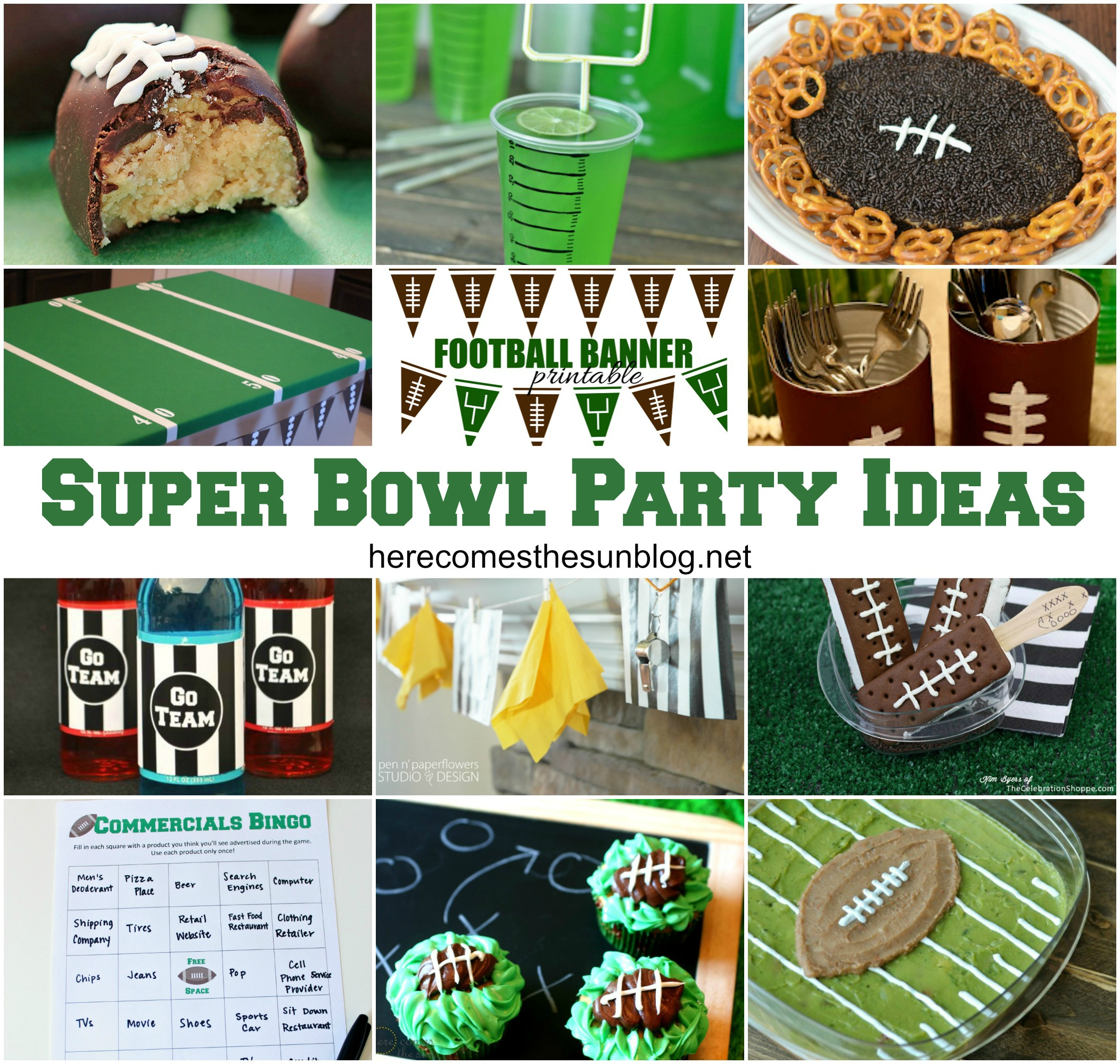 super bowl party ideas here comes the sun