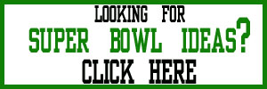 Superbowl Party Ideas Button