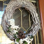 Winter Grapevine Wreath