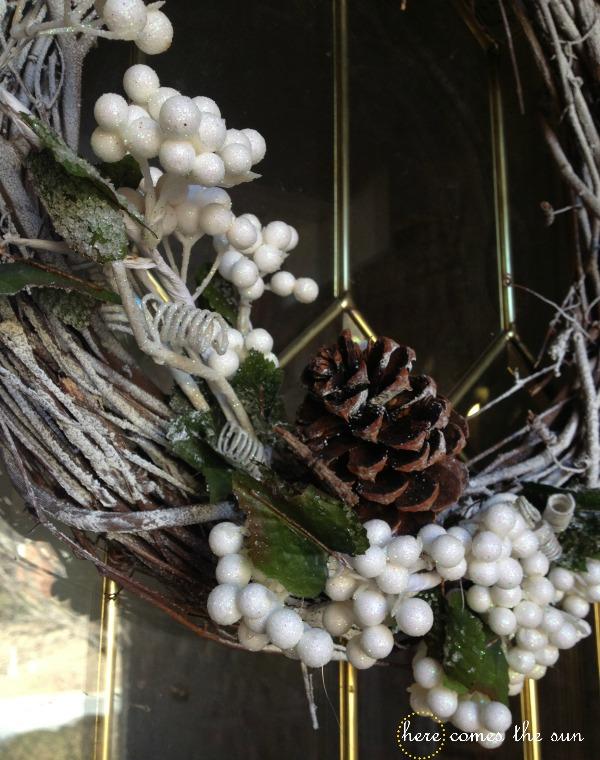 Winter Grapevine Wreath