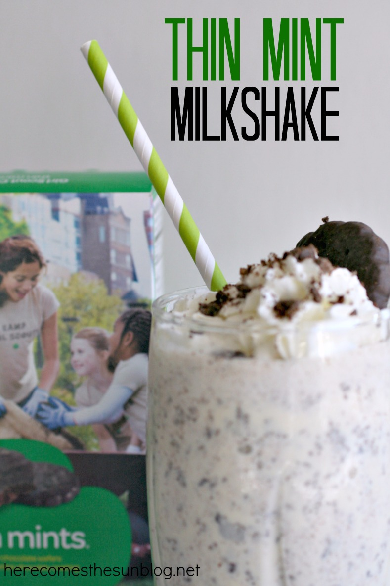 ... scout thin mint oven strudels spiked thin mint milkshake recipe yummly