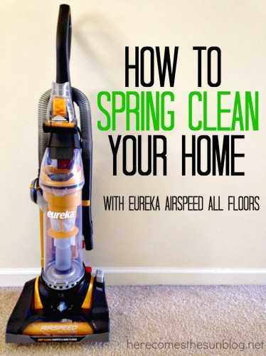 How to Spring Clean Your Home - Here Comes The Sun