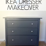 IKEA Dresser Makeover | herecomesthesunblog.net