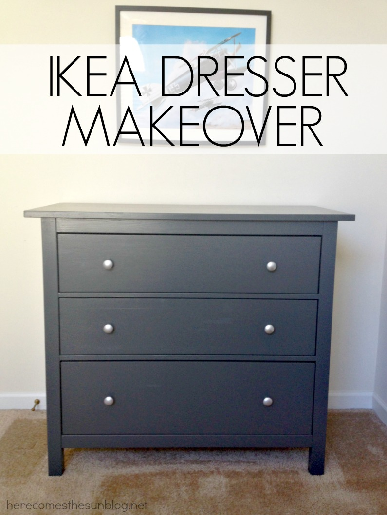 ikea bedroom furniture dressers. IKEA Dresser Makeover | Herecomesthesunblog.net Ikea Bedroom Furniture Dressers