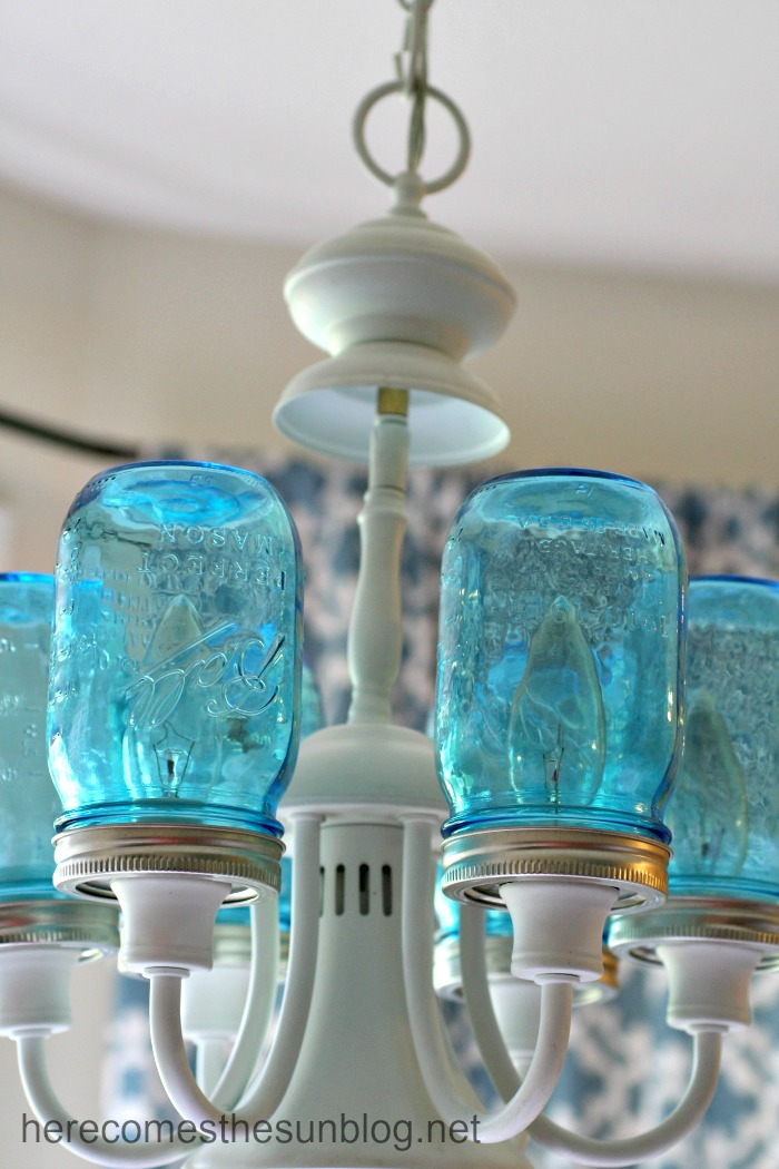 glass jar lighting. mason jar chandelier glass lighting