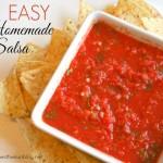 Easy Homemade Salsa Recipe!
