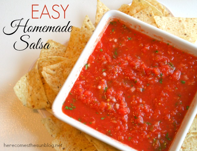Simple Salsa Recipes — Dishmaps
