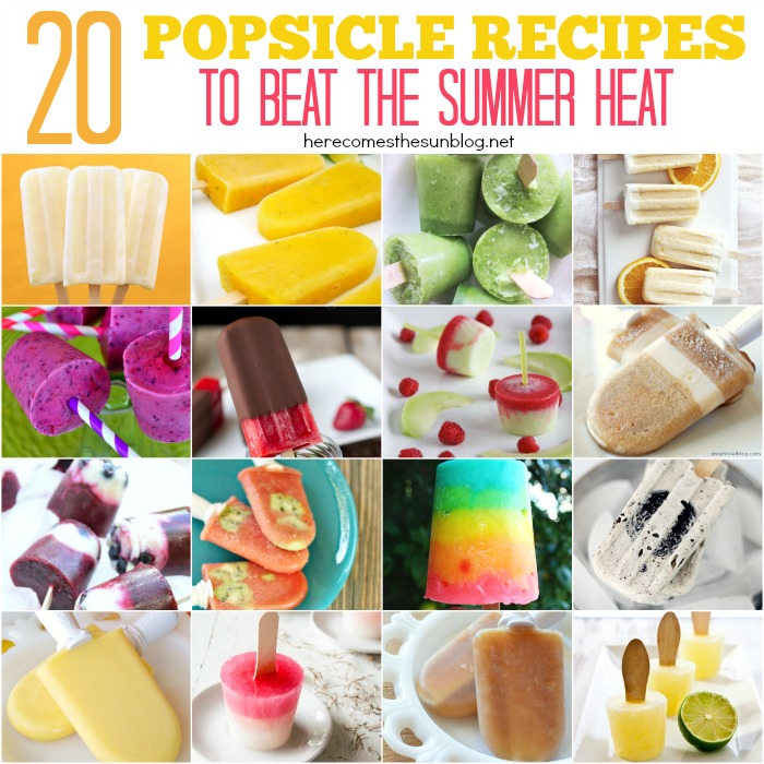 20 Popsicle Recipes