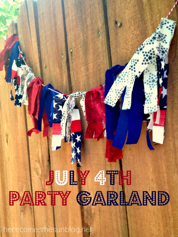 July 4th Party Garland