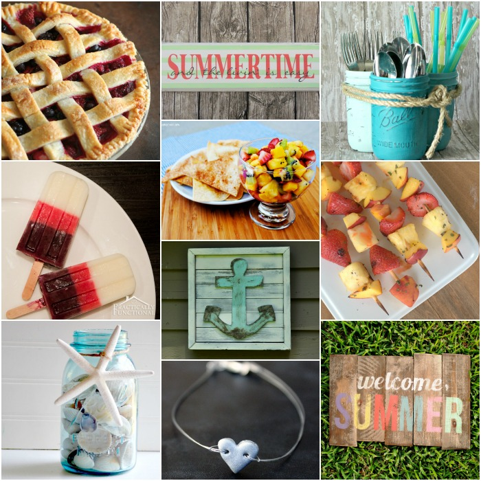Summer Blog Hop Collage