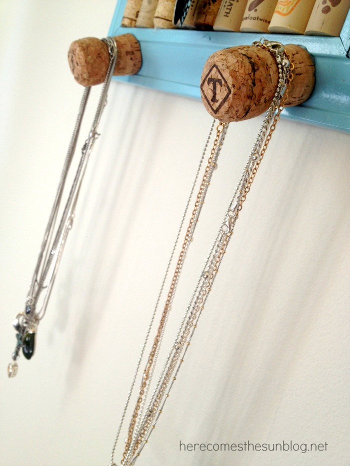 Wine Cork Jewelry Organizer Kelly Leigh Creates