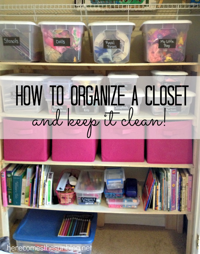 Organize Your Closet And Keep It Clean With This Easy Method!