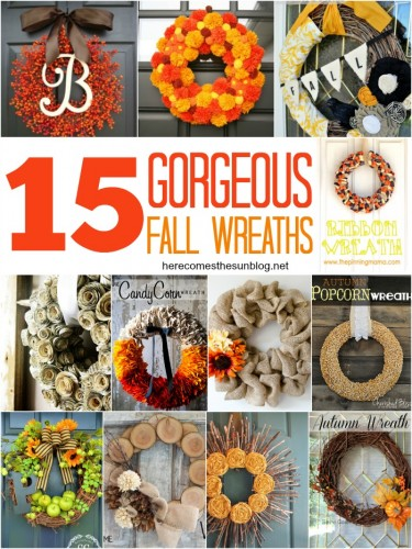 15 Fall Wreaths