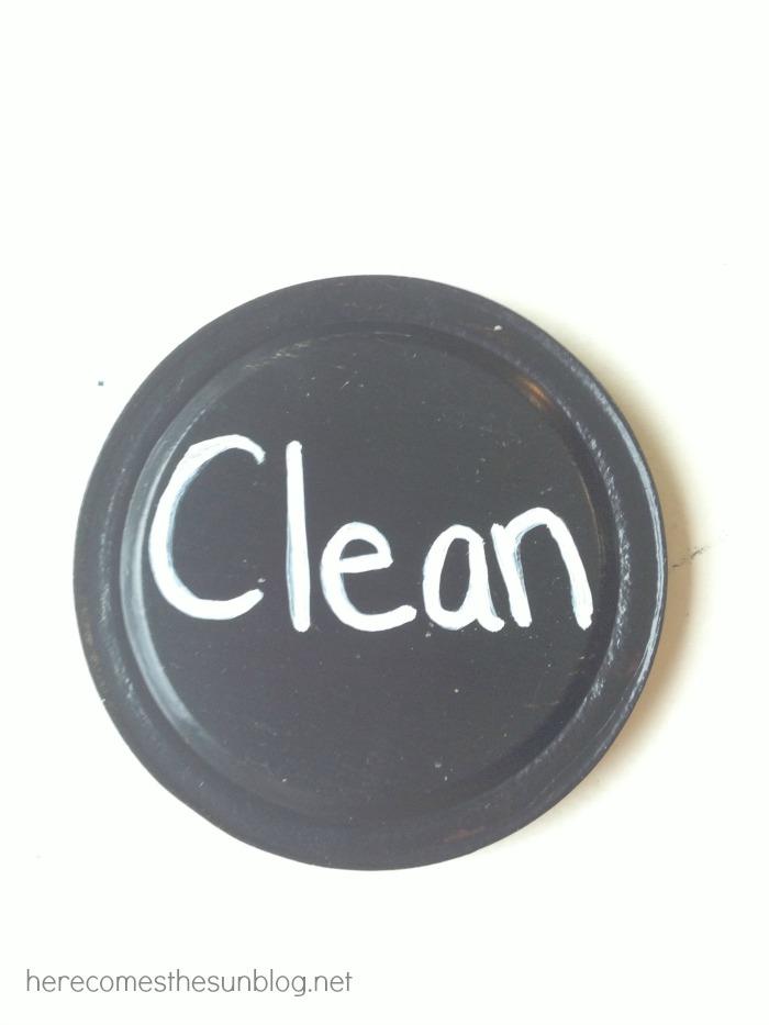dishwasher magnet clean