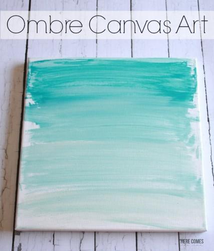 ombre-canvas-art