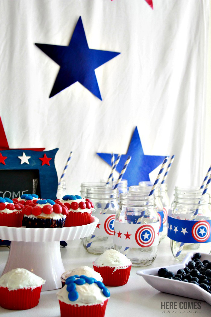 Captain America Party Here Comes The Sun