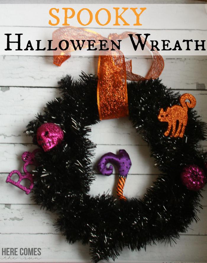 Diy Fall Halloween Wreath