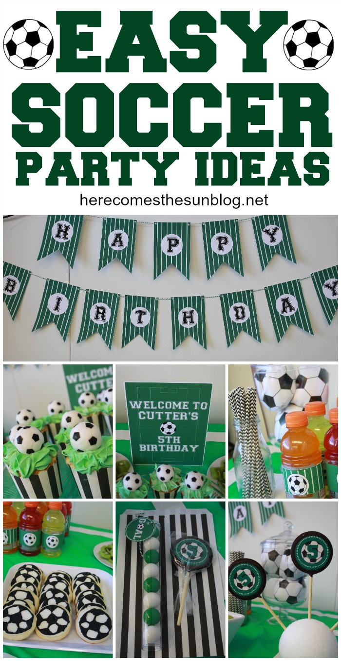 Football Birthday Party Cakes