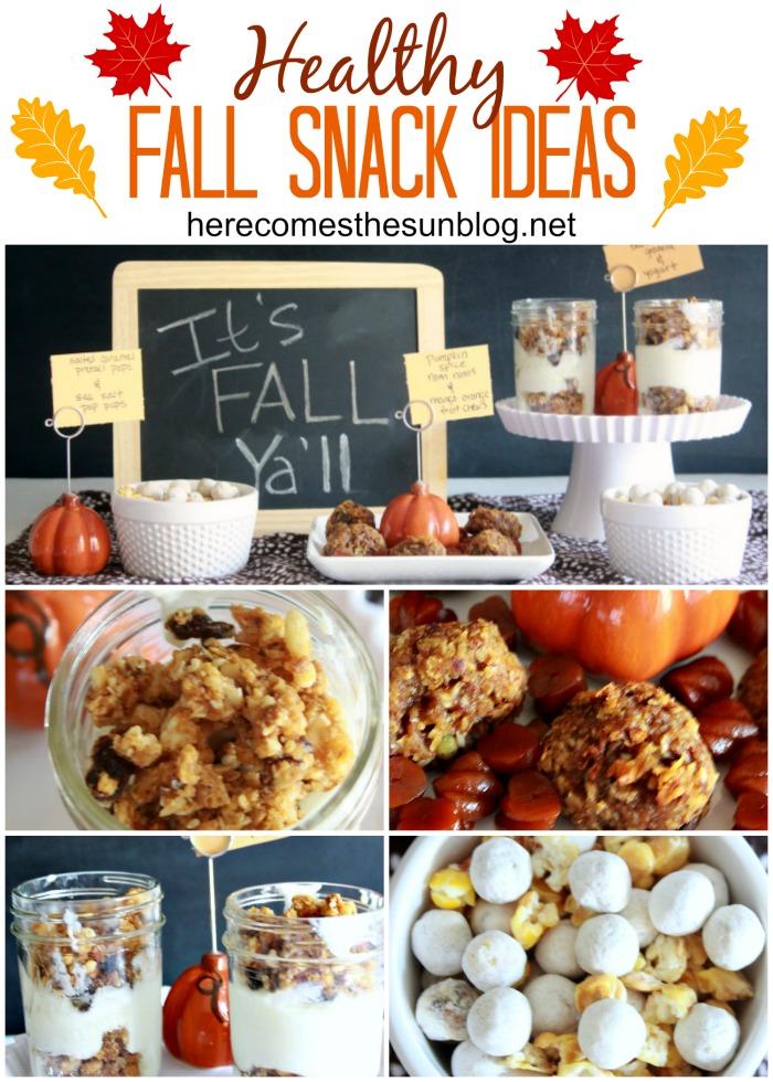Healthy Fall Snack Ideas