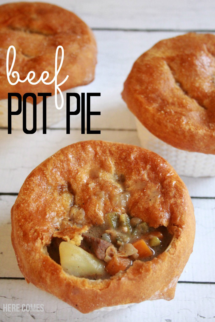 Beef Pot Pie Recipe - Here Comes The Sun