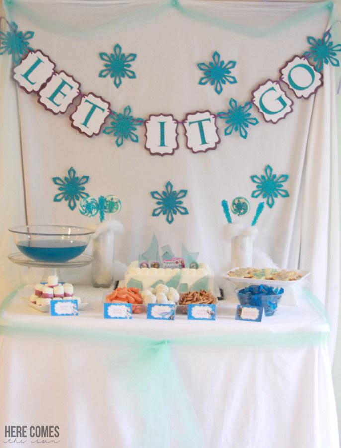 Frozen Theme Birthday Cake Charles Town Wv