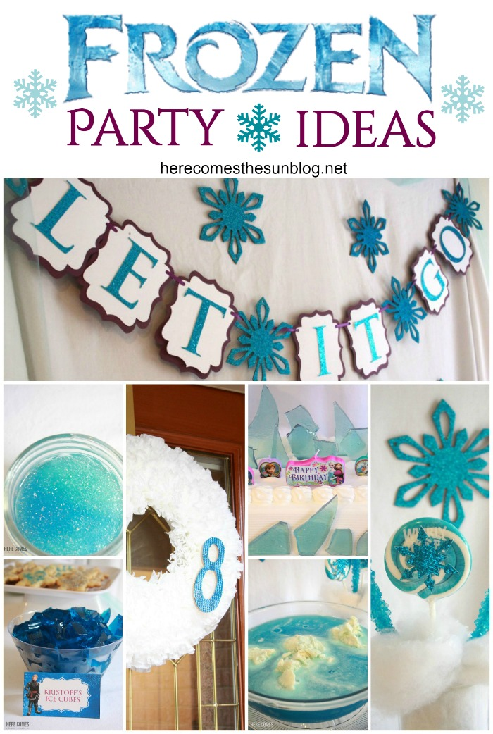 What an ADORABLE Frozen Party! Easy ideas to create a memorable party!
