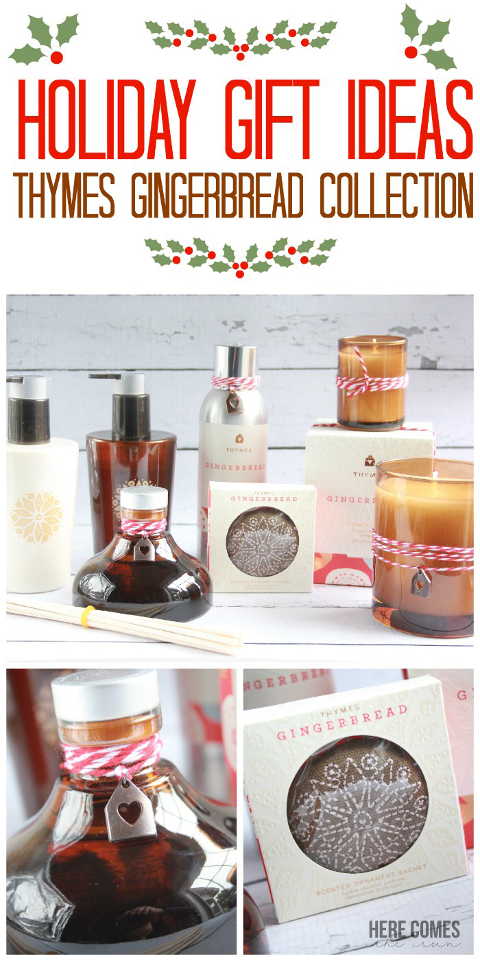 Easy Holiday Gift Ideas from Thymes #Gingerbread Collection! @ThymesFragrance #sponsored