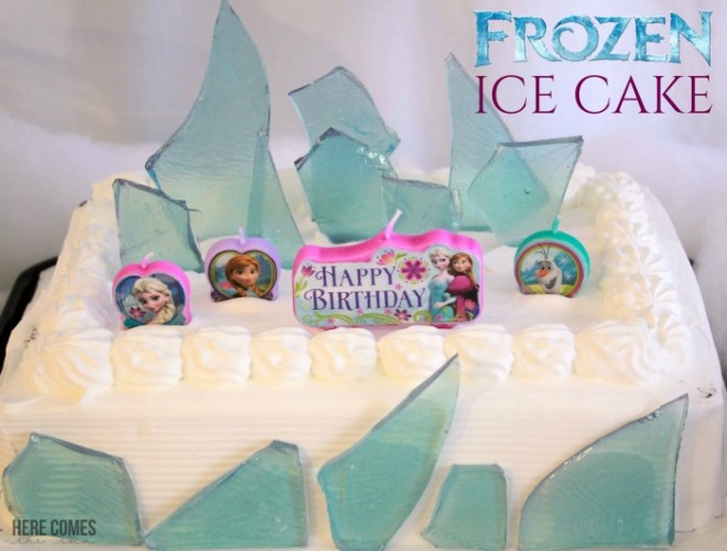 how to make sugar glass for frozen cake