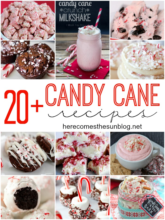 20+ Candy Cane Recipes to make this holiday season!