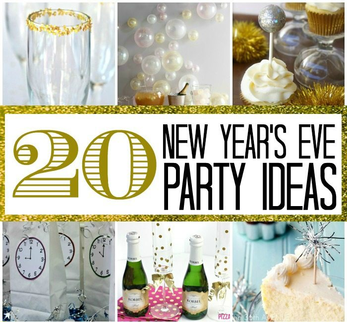 20 new year 39 s eve party ideas here comes the sun for New year eve party ideas